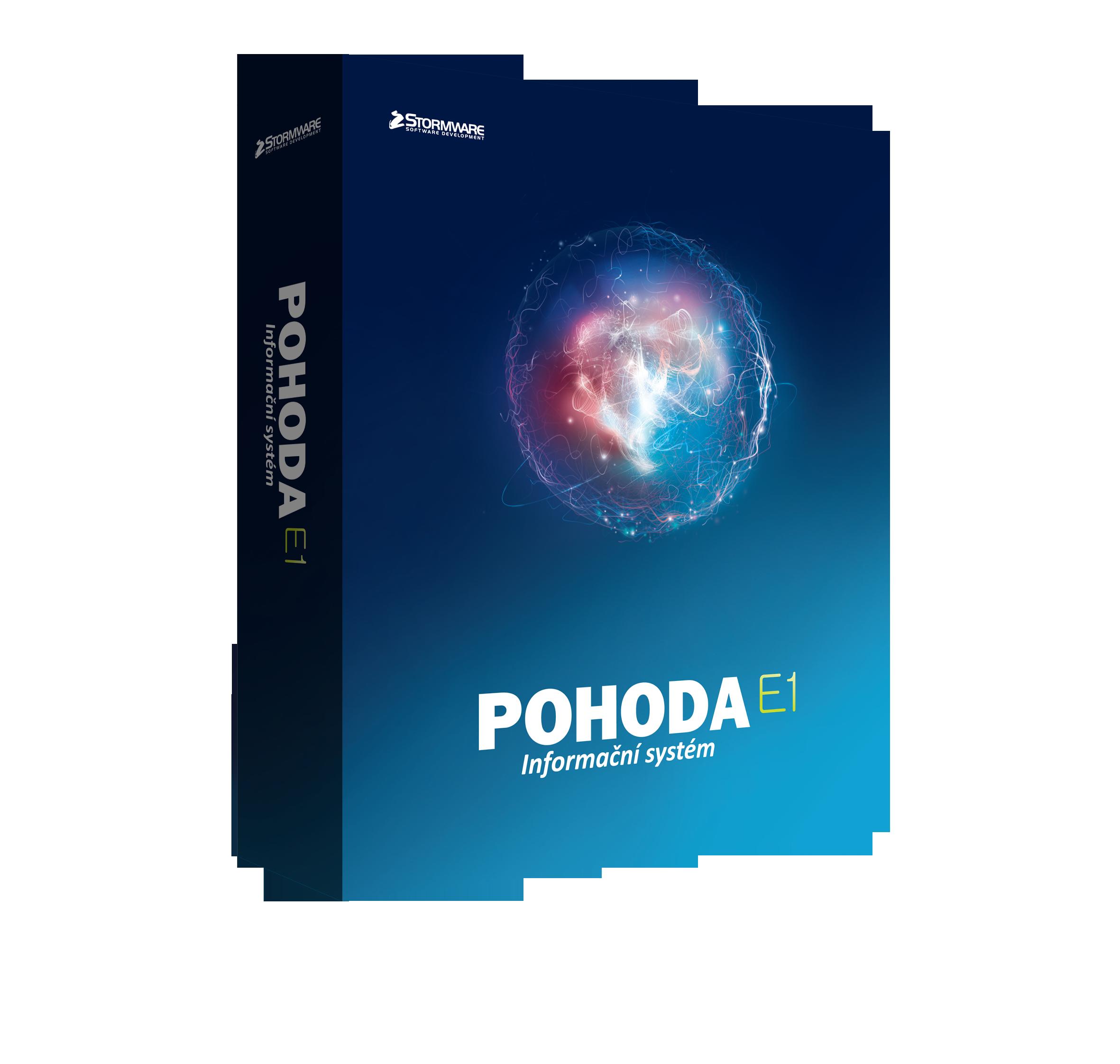 POHODA E1 2019 Premium NET 3 - síťová licence pro 2-3 pc
