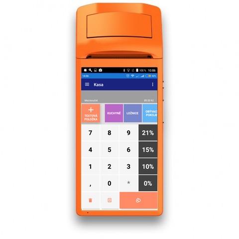 Registrační pokladna RAKEETA V1 pro mKasu