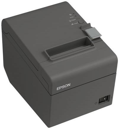 EPSON pokladní termo TM-T20II,USB+LAN,zdroj, řezačka,černá